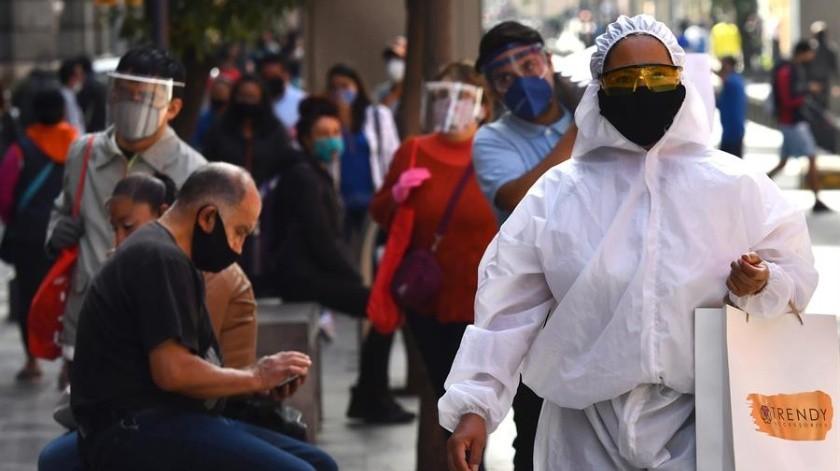 Covid-19: México registra nuevo récord  de contagios en un día con 7 mil 280(EFE)