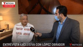 Ante la pregunta sobre si invitaría a Donald Trump a México, dijo que por lo pronto no debido a que en EU hay elecciones este año y no sería adecuado.