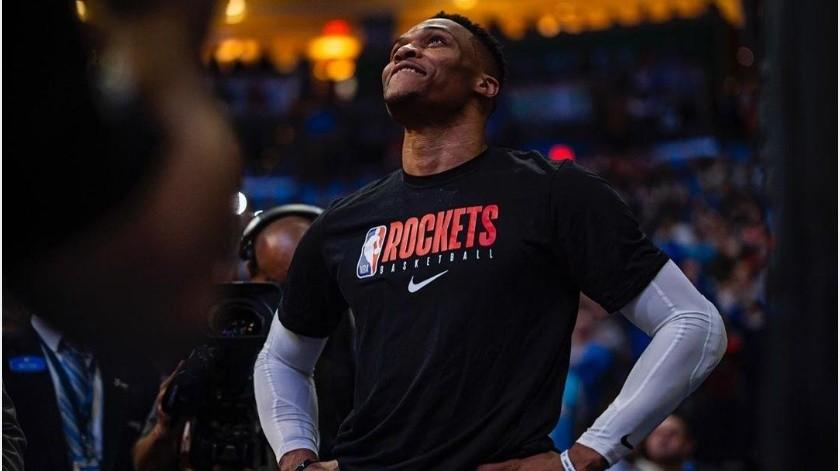 Rockets viajaron a Orlando sin James Harden y Russell Westbrook(Instagram @russwest44)