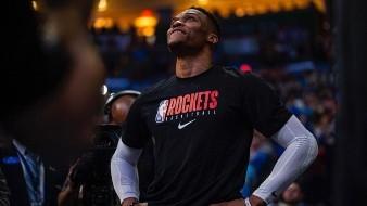 Rockets viajaron a Orlando sin James Harden y Russell Westbrook