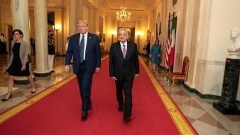 Visita a Trump fue favorable y con beneficios para nuestro pueblo: AMLO