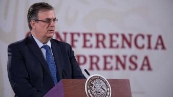 México y EU trabajan juntos en vacuna contra Covid-19 para primer semestre de 2021: Ebrard