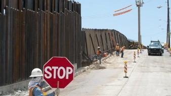 En público no se tocó el tema del muro fronterizo, pero en la cena sí hubo referencia: AMLO