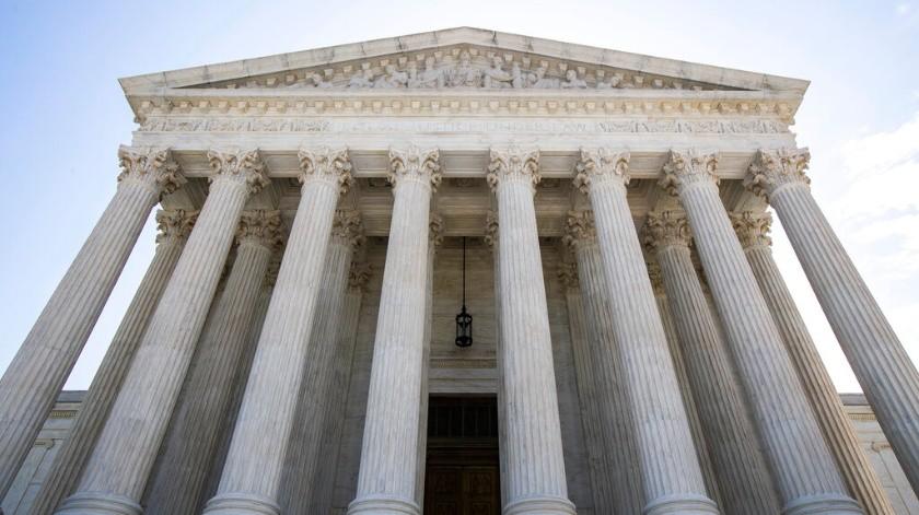 El edificio de la Corte Suprema de Estados Unidos es visto en esta foto del 30 de junio del 2020 en Washington.(AP)