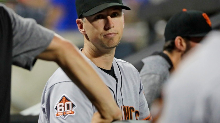 Buster Posey(Copyright 2018 The Associated Press. All rights reserved., AP)