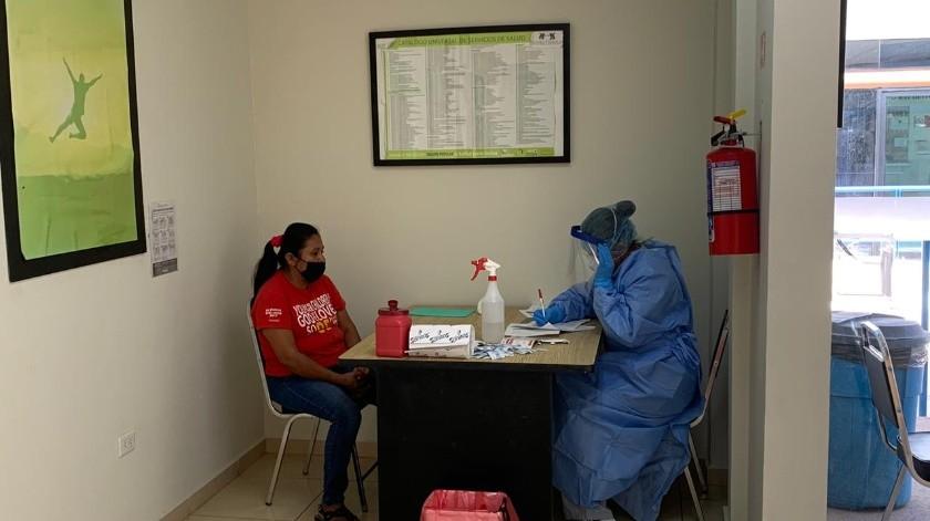 Atiende Salud Sonora a migrantes sospechosos de Covid-19 en Nogales(Cortesía)