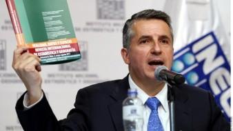 """""""Me siento muy bien"""": Julio Santaella, presidente del INEGI, da positivo a Covid-19"""