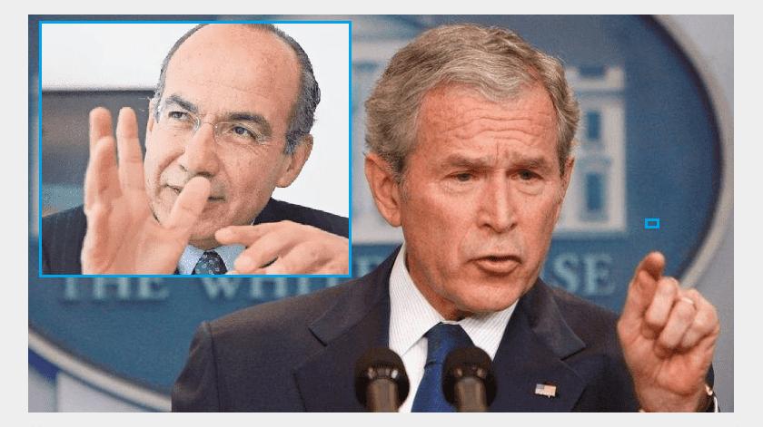 Recuerdan robo de celulares en visita de Felipe Calderón a EU(Especial)