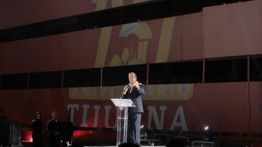 Tiene Tijuana festejo de altura(Sergio Ortiz)