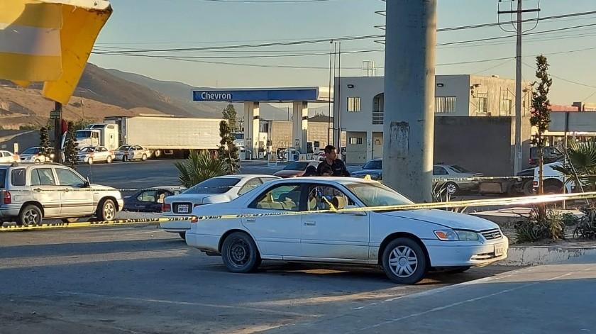 Abandonan cadáver dentro de un auto en Ojo de Agua(Margarito Martínez)