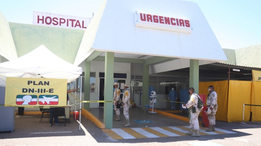 Tiene Sonora más del 70% de ocupación hospitalaria