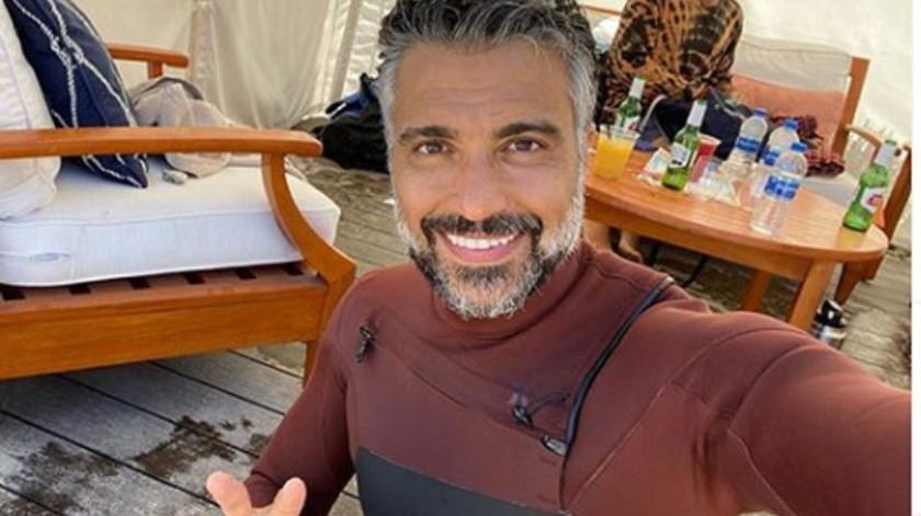 De inmediato, las fanáticas de Jaime Camil dejaron mensajes de lo sexy y bien conservado que se veía a sus 46 años de edad.(Cortesía Instagram)