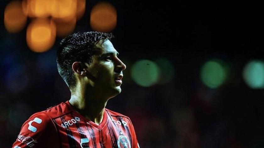 Con el Club Tijuana, Mauro Lainez ha rendido desde el primer partido, se ganó un lugar en la media por izquierda.(Cortesía)