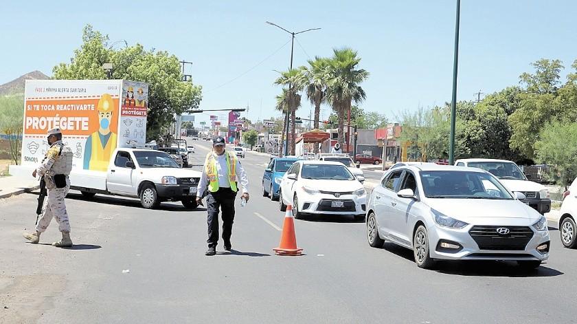 La movilidad vehicular ronda en promedio en los 25 mil automóviles, informa Tránsito Municipal.(Banco Digital)