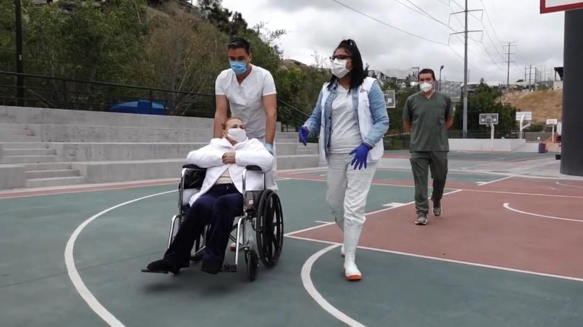 Han egresado 147 pacientes de Covid-19 de hospitales auxiliares(Archivo)