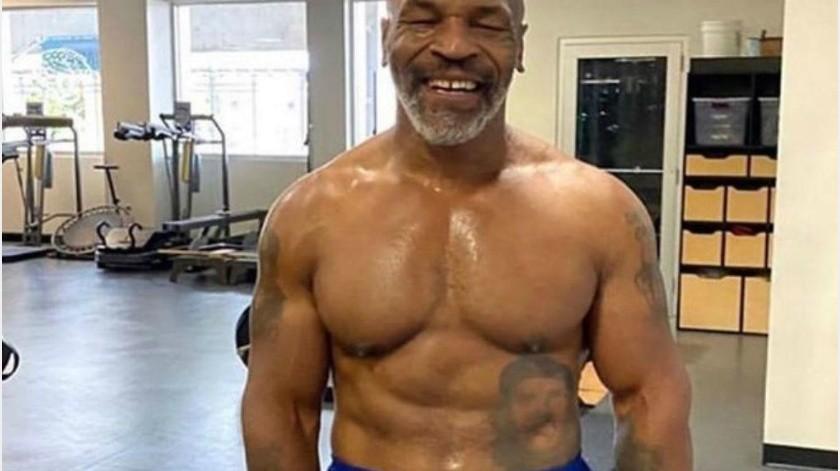 Tyson presume su mejor versión física después del retiro; perdió 31 kilogramos(Twitter)