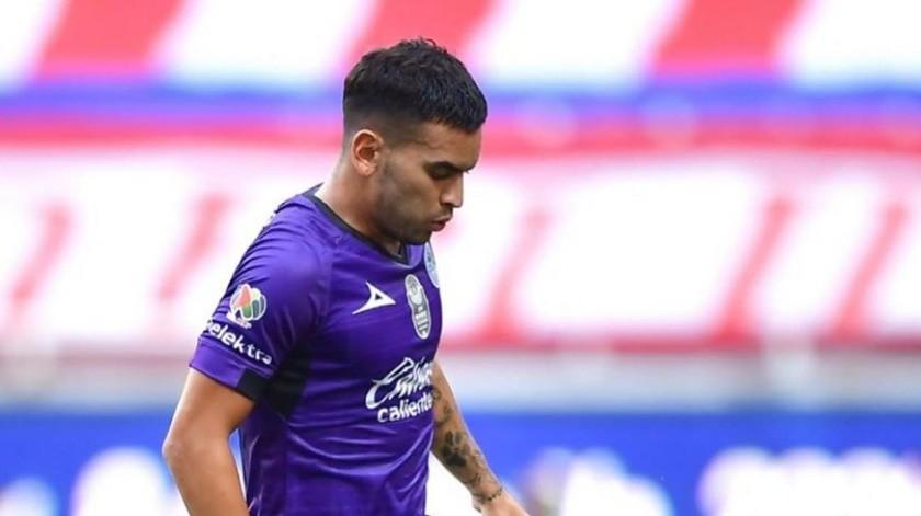 Rayados harán oficial este lunes el fichaje de Sebastían Vega(Instagram @sebavegas6)