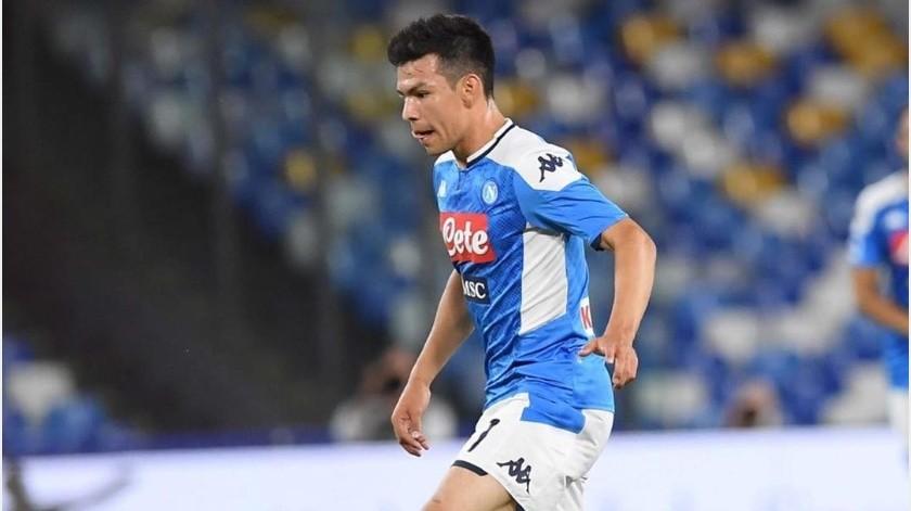 """Napoli y el """"Chucky"""" Lozano no pudieron vencer al Milán tras empatar por 2-2(Instagram @officialsscnapoli)"""