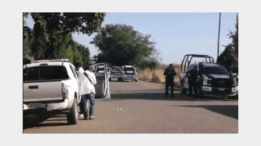 Ataque armado deja tres personas sin vida en Cócorit(Especial)