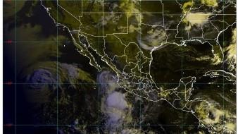 Clima: Se pronostican, para esta noche, lluvias muy fuertes en Colima, Guerrero, Jalisco, Michoacán, Nayarit y Oaxaca