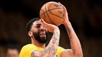Davis, de Lakers, no utilizará frase de justicia social en la reanudación de la temporada