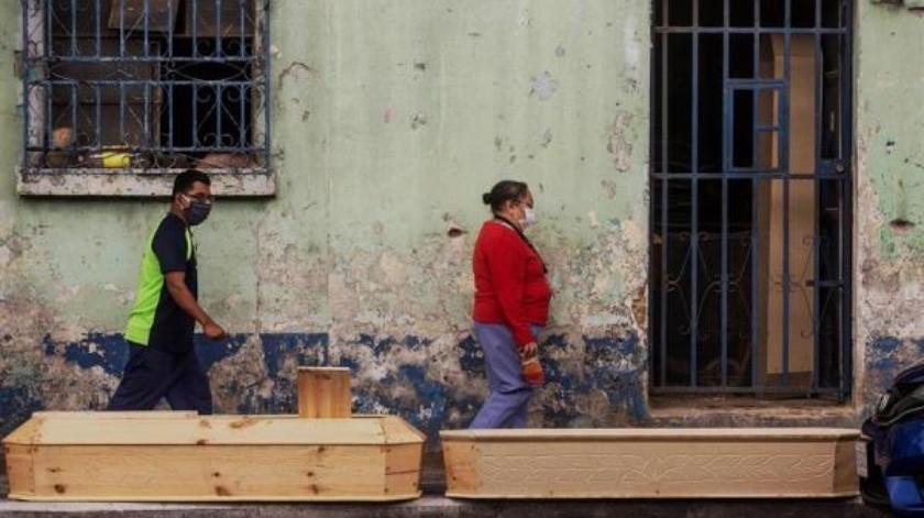 Guatemala llega a mil 219 decesos por Covid-19 y a 29 mil 355 contagios(EFE)