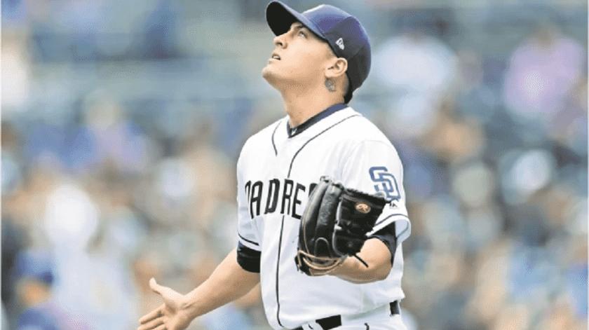Gerardo Reyes, ex Yaquis, busca lugar en Padres de San Diego(AP)
