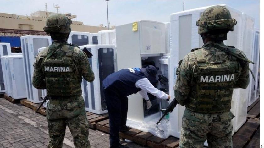 En el puerto de Manzanillo hay un problema fuerte de entrada de drogas, afirmó el Presidente Andrés Manuel López Obrador.(Archivo GH)