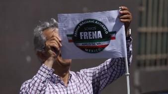 Es la cuarta caravana que organiza Frena.