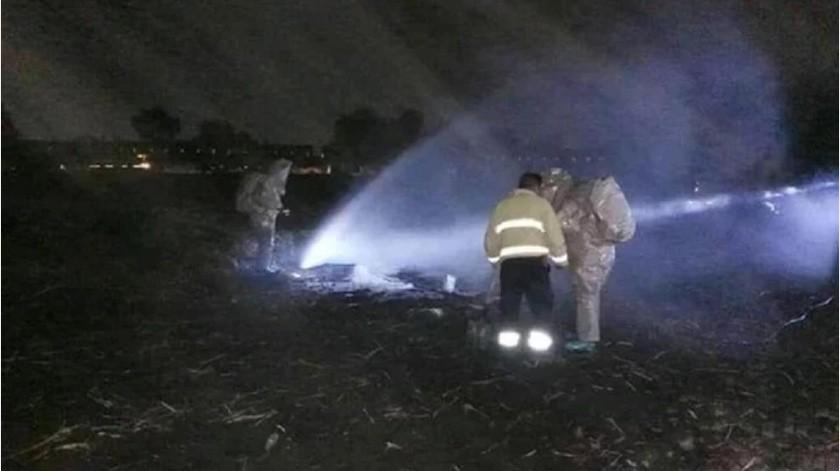 Tlahuelilpan sufre nueva fuga de combustible(EFE)