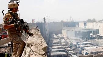 El principal portavoz talibán, Zabihullah Mujahid, reivindicó el ataque en nombre de los insurgentes.