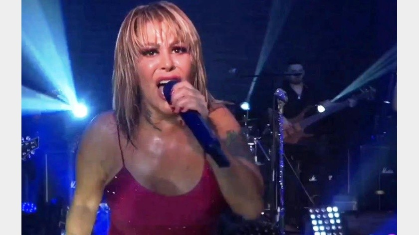 Este fin de semana Alejandra Guzmán ofreció su primer concierto virtual.(Tomada de la red)