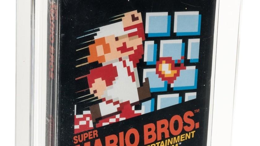 Una copia rara de Super Mario Bros se vende por $114 mil dólares