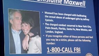 Maxwell trató de esconderse cuando la policía llegó a su mansión a arrestarla
