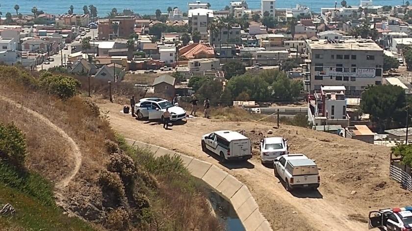 El hallazgo ocurrió la sección Costa Azul en Playas de Tijuana.(Cortesía)
