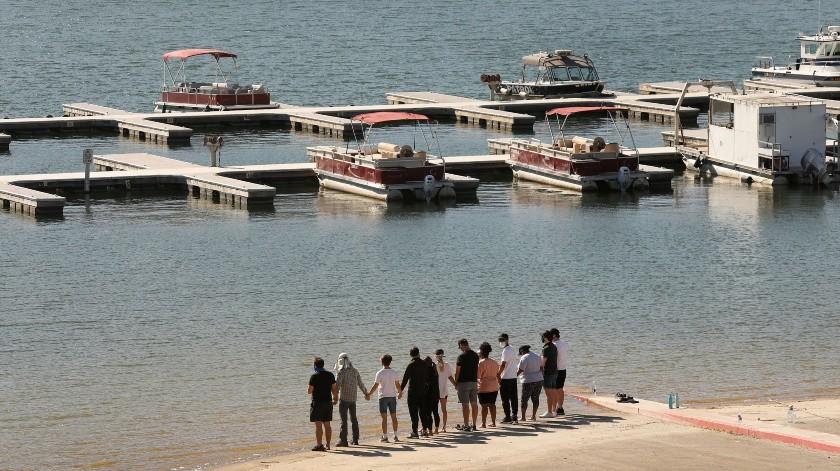 El cuerpo de Naya Rivera fue encontrado la mañana de este lunes en las aguas del lago Piru.(Tomada de la red)