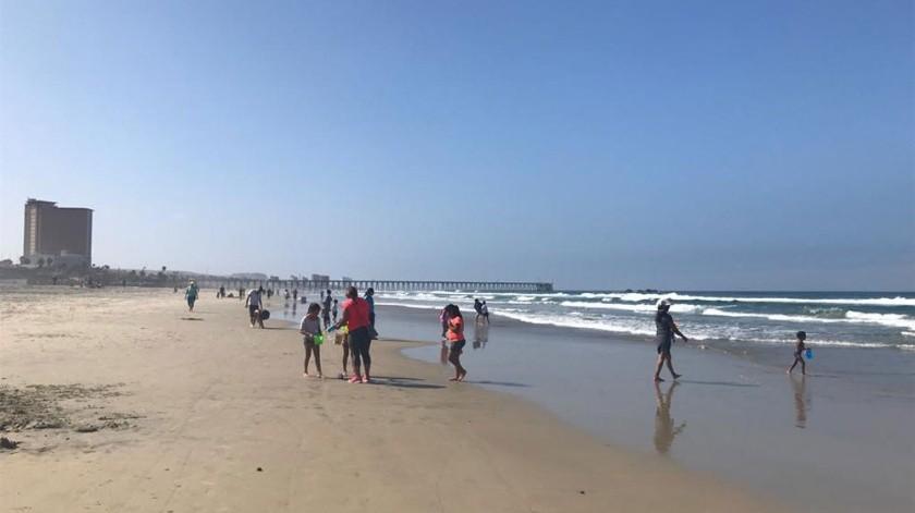 No ha sido fácil la reapertura de la playa ya que hay personas que no atienden las recomendaciones.(Carmen Gutiérrez)