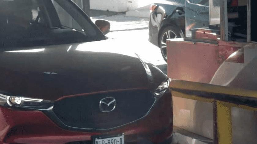Lector de placas ayuda a recuperar auto robado(Cortesía)