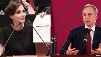 Analiza Lilly Téllez denunciar a López-Gatell por negligencia criminal