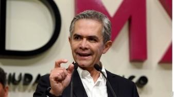 Reforma a ley de presupuesto es viable: Miguel Ángel Mancera