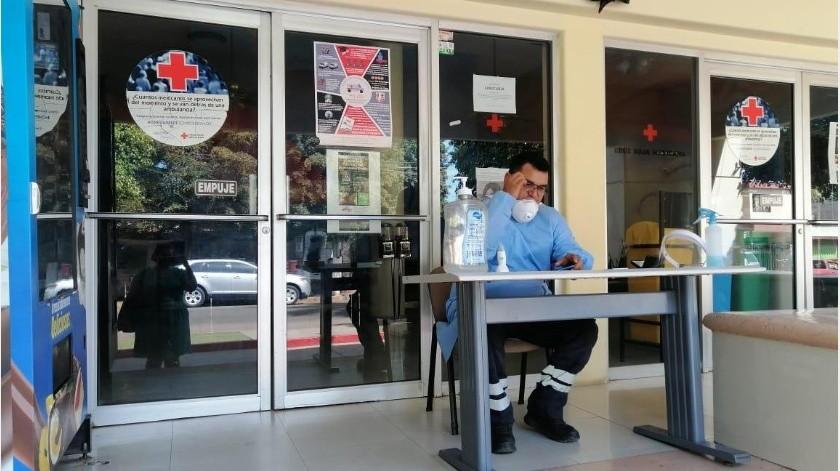 Realiza Cruz Roja de CO pruebas rápidas de Covid(Mayra Echeverría)