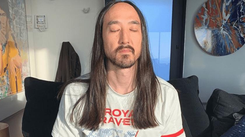 Steve Aoki tiene 42 años en la actualidad.(Instagram/SteveAoki.)