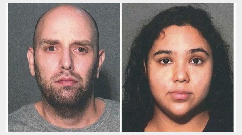 Pareja detenida en hotel de Nueva York acusada de macabro crimen de odio(AP)