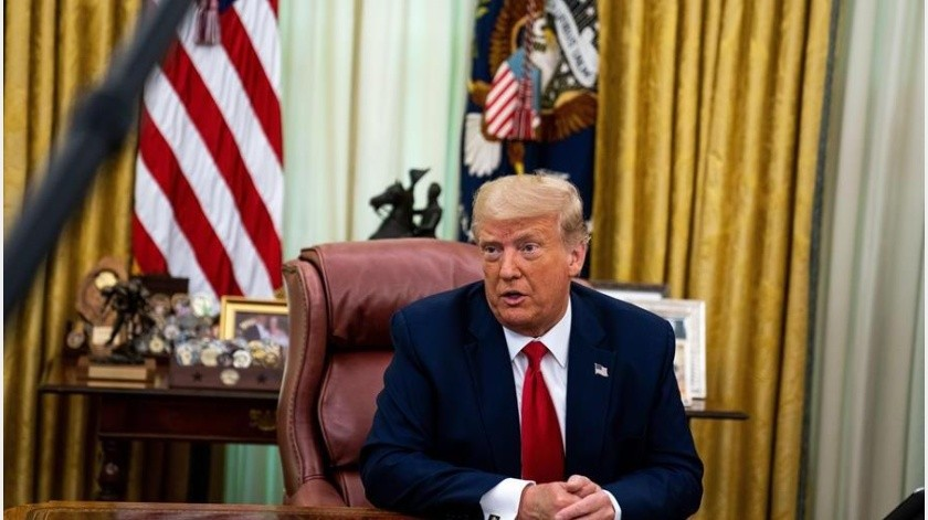 El Tribunal Supremo de EE.UU. rechazó la semana pasada la idea de que Trump tiene inmunidad absoluta frente a investigaciones criminales(EFE)