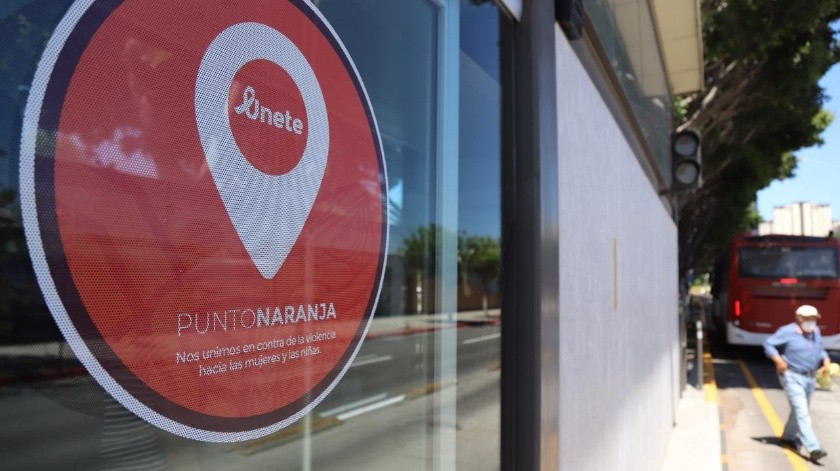 Además de la Ruta Troncal, en Tijuana hay más de 200 puntos naranjas para seguridad de las mujeres.(Sergio Ortiz)