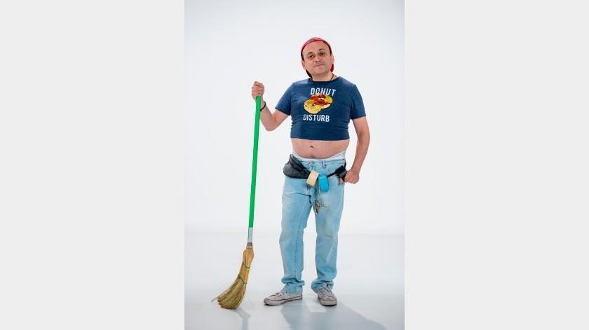 Comediante mexicano Lalo Espa�a defiende el humor y pide no caer en extremos(SE, Televisa)