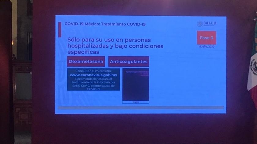Llama Salud a no automedicarse y presenta lista de medicamentos no recomendados contra Covid-19