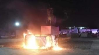 Rescatan policías estatales a dos sujetos de ser linchados en Hidalgo