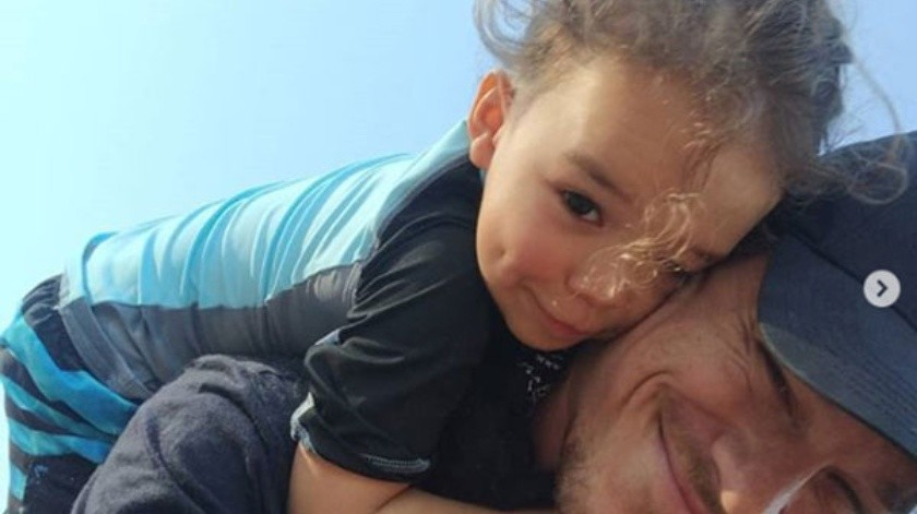 Josey Dorsey se quedará con su papá Ryan Dorsey.(Cortesía)