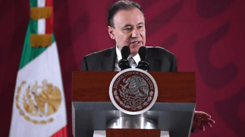"""""""Video de presunta banda criminal está siendo analizado"""": Durazo; no hay capacidad para desafiar exitosamente a fuerzas federales de seguridad(Gobierno de México)"""